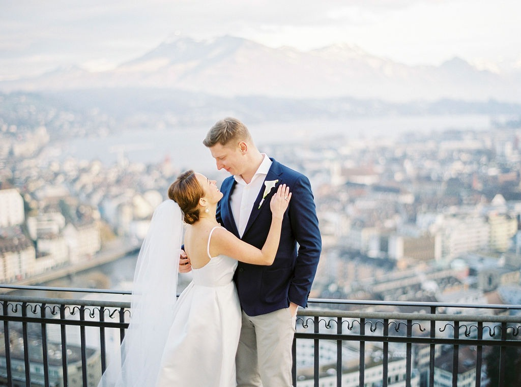 Intimate Lucerne Wedding with Big Heart